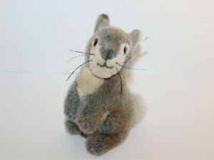 """Steiff Rabbit Plush Toy Button In Ear Made In Germany 077814 7 1/2"""""""