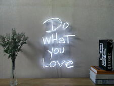 New Do What You Love Neon Sign For Bedroom Wall Home Decor Artwork With Dimmer