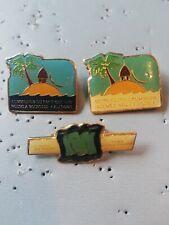 3 Pin's Pins épinglette Nouvelle Calédonie Nouméa commission