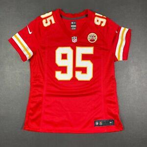 100% Authentic Chris Jones Chiefs Nike On Field Game Jersey Size L Women