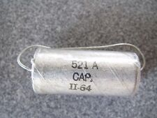 WESTERN ELECTRIC 521A  1.0uf 200V Low ESR  NOS  VITAMIN Q TYPE OIL CAPACITOR #2