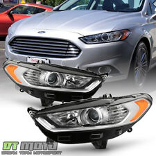 2013 2014 215 2016 Ford Fusion Headlights Lights Lamps Pair set Left+Right 13-16