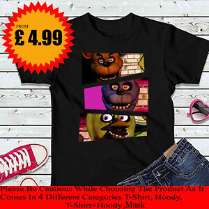 Five Nights at Freddy/'s Toychica Inspired Boys Girls Womens Kids Mens TShirt