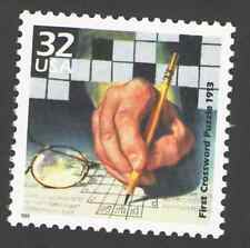 US. 3183 l. 32c. First Crossword Puzzle Published, 1913. Celebrate The Century.