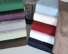 7 PC (4 PC Sheet Set+3 PC Duvet Set)AU Sizes 1000 TC Egyptian Cotton Solid Color