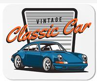 Vintage Classic Car Porsche 911 - Mouse Pad