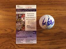 Hal Sutton Signed Titleist Golf Ball JSA/COA w/ CUBE