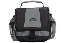 Strand Medium Bag for Camcorder and Compact System Camera - Black/Grey