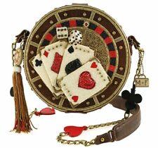 MARY FRANCES | ALL IN DESIGNER BAG *NEW* CARDS POKER CASINO GAMBLING RARE CUTE