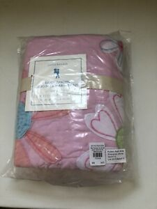 Pottery Barn Daisy Garden Sham Quilted New Pink