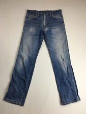 WRANGLER 'Regular Fit' Jeans - W34 L34 - Faded Navy Wash - Great Condition