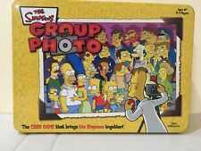 The Simpsons Group Photo Card Game Collectible Tin USAopoly 2003 Complete