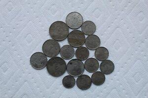 Saudi Arabia Coins, 17 total, 1/4 G, 1G, 2G, 5G, 5H, 10H, 25H, 50H, AH1356-1396