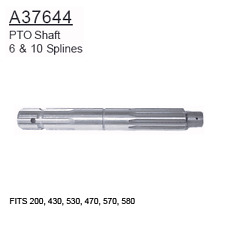 A37644 Case Tractor Parts PTO Shaft 200, 430, 530, 470, 570, 580