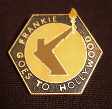 FRANKIE GOES TO HOLLYWOOD CONCERT TOUR BADGE 85 WELCOME TO THE PLEASUREDOME