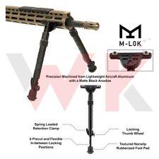 "Tactical Rifle M-LOK Rail Handguard Bipod Center Height 8.0"" - 11.8"" Aluminum"