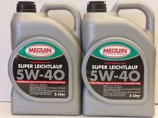 5,36€/l Meguin Megol Motoröl Super Leichtlauf vollsynthetisch SAE 5W-40 10 L