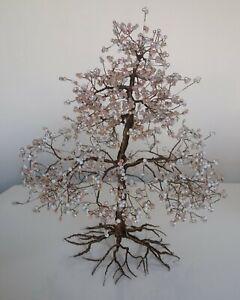 Handmade Beaded Wire Tree