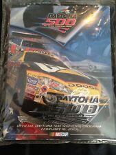 2003 Daytona 500 NASCAR Official Souvenir Program 2/16/2003 FREE 2002 Game Demo