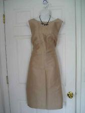 $209 NWT TALBOTS BRONZE FORMAL SILK DUPIONI DRESS SHEATH 24W 3X (#613)