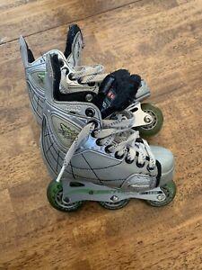 CCM Vector PF8 Inline Hockey Skates 2.5 (little guys)