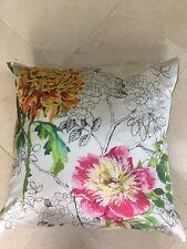 Designer's Guild Sibylla Fuschia Botanical Decorative Pillow - 20 x 20