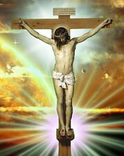 Jesus On Cross / Religious 8 x 10 / 8x10 GLOSSY Photo Picture IMAGE #2