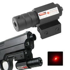 Tactical Red Laser Beam Dot Sight Scope for Pistol Rifle Gun Picatinny Mount