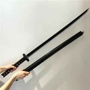 Japanese Tanjiro kamado Cosplay Samurai Katana Weapon Martial Art Prop Sword