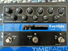 Awesome Eventide TimeFactor Twin Guitar FX Delay Pedal Boxed With Power Supply