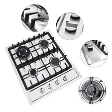 Ng/Lpg Cooktop 4-Burners Built-in Stove Cooker Kithen Cooking Stainless Steel