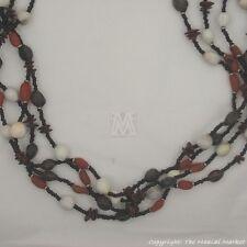 Maasai Market African Kenya Handmade Jewelry Masai Beads Seeds Necklace 521-50
