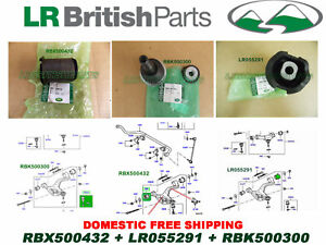 LAND ROVER FRONT LOWER CONTROL ARM BUSHING & BALL JOINT RANGE ROVER SPORT 05-09