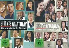 Grey's ( Greys ) Anatomy - Season/ Staffel neun & zehn - Neu & OVP 9 + 10