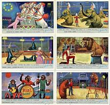 Chromo Liebig Sang. 1864  ITA Storia del Circo II ANNO 1974