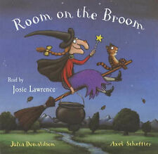 "JULIA DONALDSON ""Room on the Broom"" (Read By JOSIE LAWRENCE) CD-Audio"