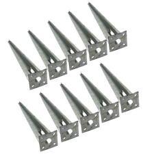Einschlaghülse Pfostenträger Bodenhülse 10 Stück Bodenanker Einschlagbodenhülse