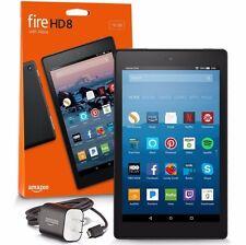 """Amazon Kindle Fire HD 8 8"""" 16GB Wi-Fi Tablet Black (7 Gen) 2017 ✔Latest Model✔"""