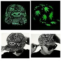 Moda Luminosa Glow Sombrero gorra snapback de béisbol hip-hop Noche Unisex