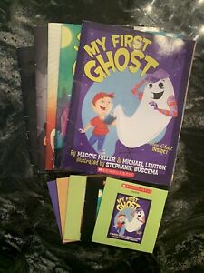 Lot Of 5 Elementary Listening Centers On CD Scholastic Halloween
