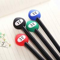 6Pcs Fashion Cute Cartoon Ninja Ball Pens Office School Supply Stationery Gifts