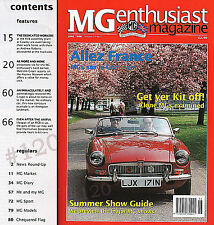 Restoration 1930s C-TYPE COMPETITION MG - MG Enthusiast  June 1996  Vol 18  No 3