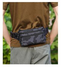 Men Tactical Waist Belt Bag Fanny Pack Chest Shoulder Bags Shoulder Sport Wallet