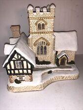 Vtg David Winter Cottages - Special for Christmas 1989 - A Christmas Carol Euc!
