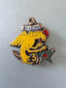 insigne RICM 3e Escadron matriculé