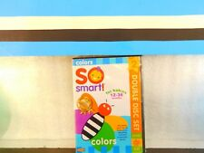 So Smart! - Colors DVD + Music CD Set  12 - 36 Months on DVD New Sealed