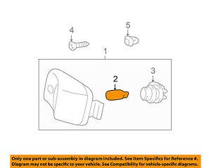 TOYOTA OEM-Exterior Bulb 9098112010