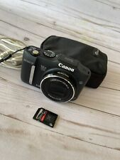 Canon PowerShot SX160 IS 16.0MP Digital Camera Black With Memory Card and Case