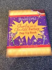 CHARLIE AND THE CHOCOLATE FACTORY POP UP BOOK ROALD DAHL USED