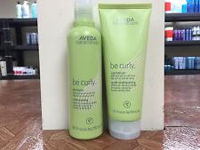 Aveda Be Curly Shampoo 8.5fl.oz & Conditioner 6.7fl.oz SET